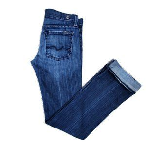 7 For All Mankind Straight Leg Jean Size 27